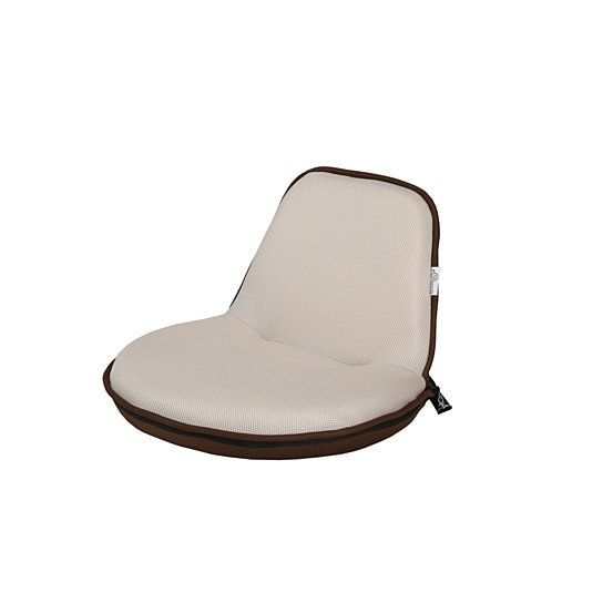 Loungie Quickchair Mesh Floor Chair Foldable Portable With