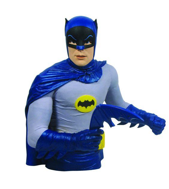 Pré-Encomenda:  Batman 1966 Bust Bank Batman 20 cm  Para mais informações clica no seguinte link: http://buff.ly/1iaEKnF  #ToyArt #DST #Batman