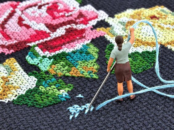 || Cross-Stitching on Flickr: