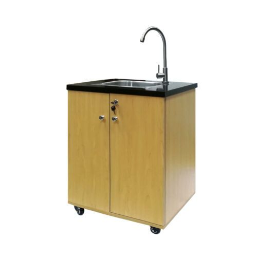 Portable Sink Self Contained Hand Wash Station Mobile Sink Water Fountain W Pump Ebay Portable Sink Portable Sinks Sink