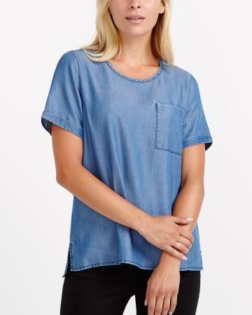 T-shirt en jeans