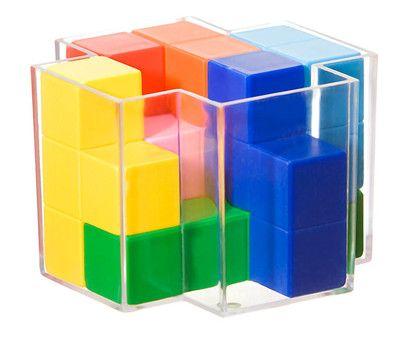 High Cube - Udfordrende 3D-pusleopgave med syv sværhedsgrader!