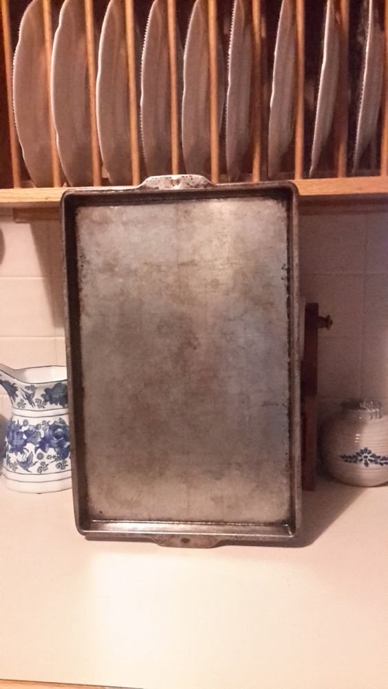 Vintage Baking Sheet by OurVintageNest on Etsy