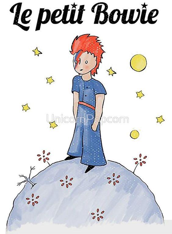 David Bowie Le Petit Bowie Little Prince By Unicornpopcorn David Bowie Bowie Illustrations And Posters