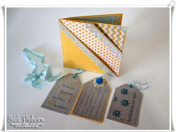 Tutorial Tarjeta con dos dobleces - Double Pocket Card