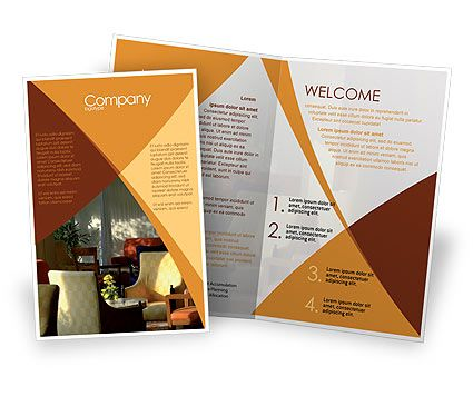 This is a Sale Poster Template #08139 for internet, typing, work - hotel brochure template