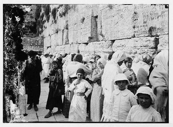 Israel Western Wall in 1911