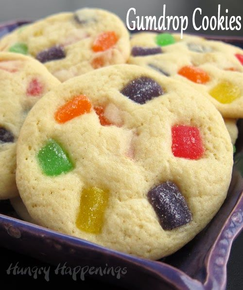 Recipe For Old Fashioned Gumdrop Cookies