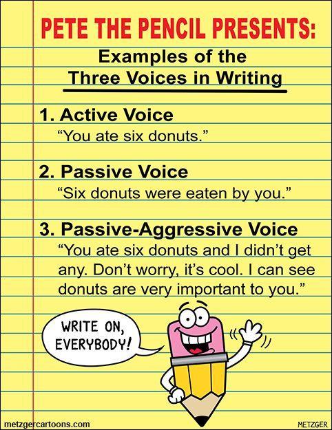 Master thesis passive voice