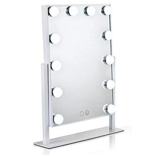 Hollywood Lighted Vanity Mirror, Led Makeup Mirror Vanity