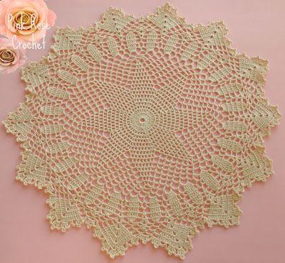 Pink Rose Crochet: Laurel Mountain doily