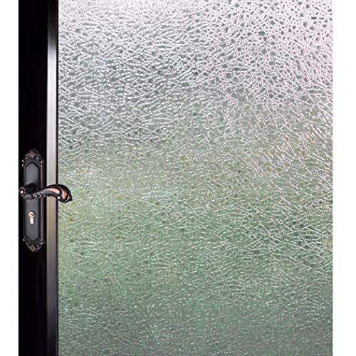 Duofire 窓用フィルム 目隠しシート 水で貼る 貼り直し可能 ガラスフィルム 遮光 遮熱 断熱シート 装飾フィルム 紫外線 Uvカット Df14001 0 6m X 2m 目隠し シート 断熱