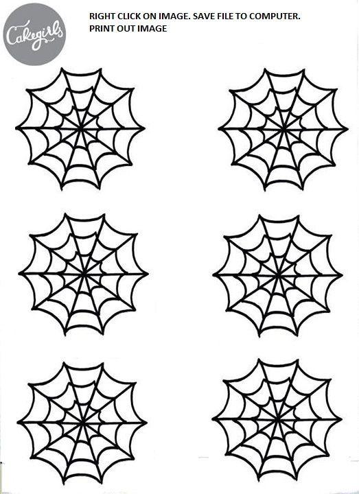 Spiderweb Template Spiderman Birthday Spiderman Cake Spiderman Cupcakes
