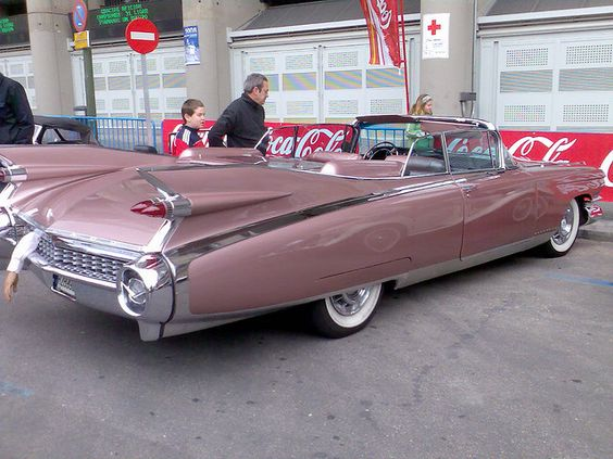 """""""Life is a Highway"""" in a 1959 Cadillac Eldorado Biarritz Convertible and it's PINK too...how devine to drive across Canada in this baby!"""