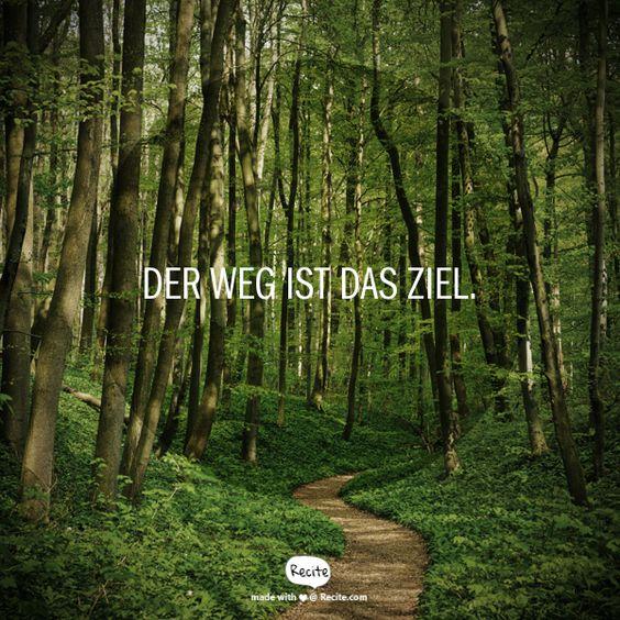 Der Weg ist das Ziel. |    #Sprüche #Motivation #Bike #MTB #Trail