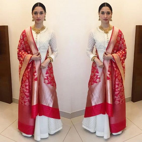 How To Style Banarasi Dupatta For A Classic Look