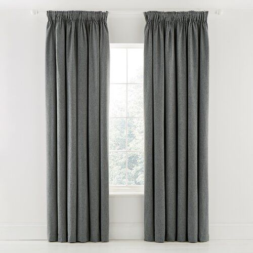 Niki Tab Top Room Darkening Curtains Murmur Panel Size Width