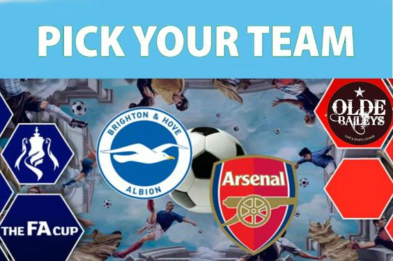 Sunday match!- Brighton vs Arsenal @ 9:30 pm 25-01-2015