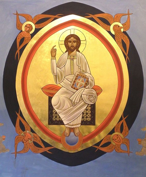 Christ - Pantocrator by Dr Stephane Rene: