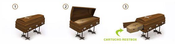 Gran Ataud — Ataúdes Restbox para cremación.