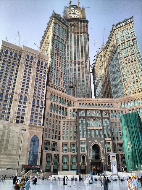 Tower King Abdul Aziz in Makkah, Saudi Arabia
