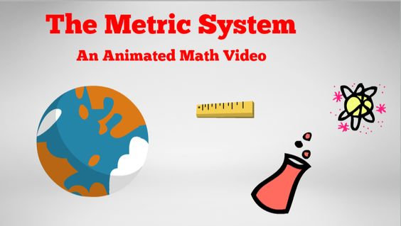 Learn the basics of the metric system with this short animated video