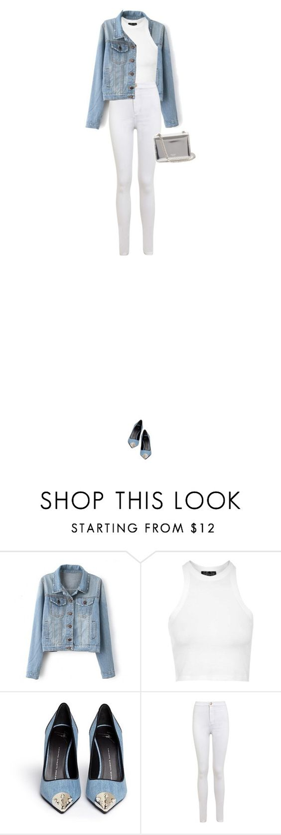 """Untitled #373"" by vjdfashion ❤ liked on Polyvore featuring mode, Topshop, Giuseppe Zanotti, Miss Selfridge, Rochas, women's clothing, women, female, woman et misses"