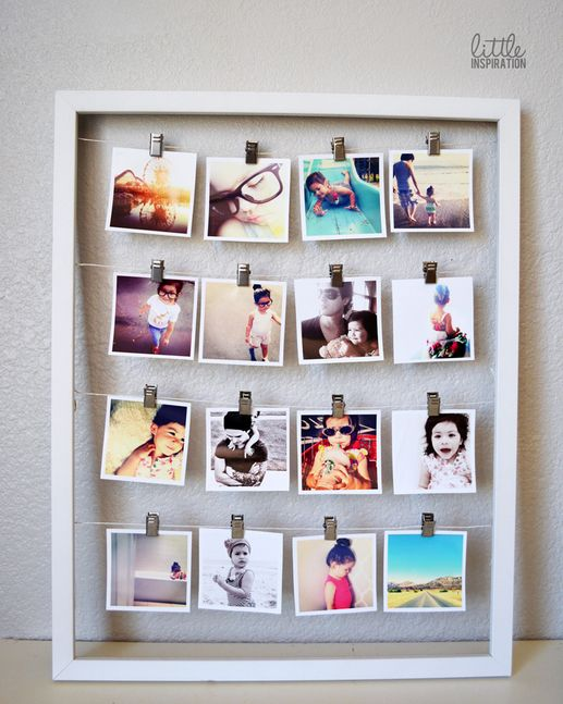 27 Unique Photo Display Ideas That Will Bring Your Memories To Life |  Instagram photo ideas, Facebook and Instagram