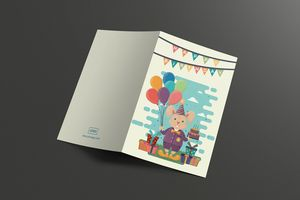 Dolorsitamet Greeting Card Template Designs.net #Card #Template #GreetingCard #GraphicDesign #DesignsNet #Marketplace #Launch