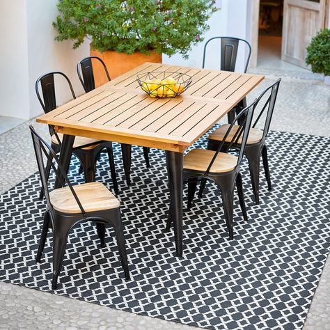 Table de jardin | Loft Einrichtungsideen | Table de jardin ...