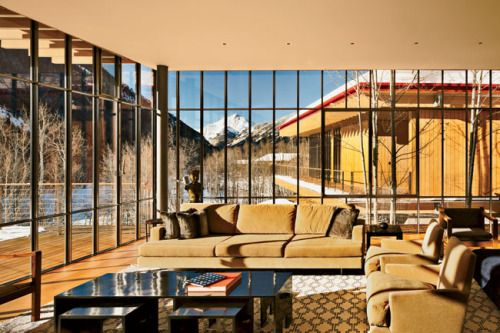 House in the Rockies Renzo Piano Building Workshop