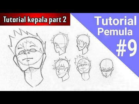 sketsa anime | Cara menggambar, Menggambar kepala, Tutorial ...
