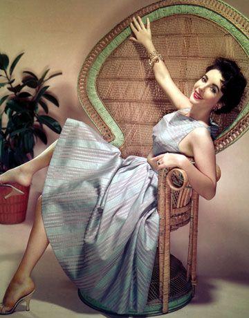 A portrait from the 1950s.    - HarpersBAZAAR.com