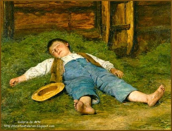 Biografía: Albert Anker, pintor suizo nacido en Ins, comuna suiza del Cantón de Berna, en 1831 y fallecido...