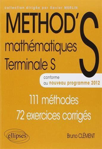 METHOD'S Mathématiques Terminale S Conforme au Programme ... https://www.amazon.fr/dp/2729876235/ref=cm_sw_r_pi_dp_sRzHxb3F1YHPH