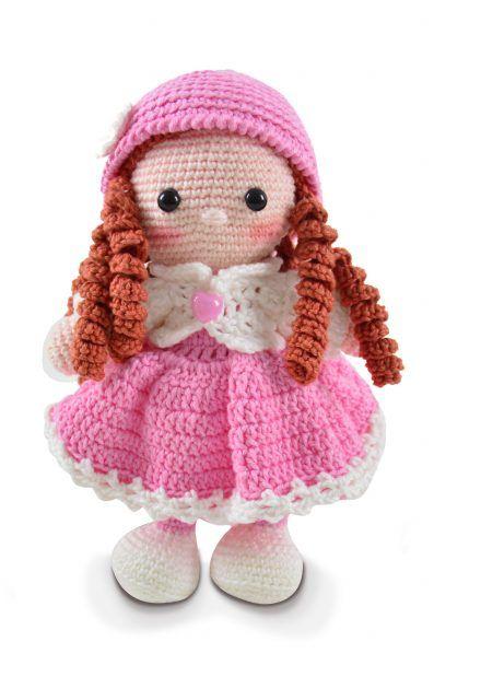 Como fazer cabeça de boneca | AMIGURUMI -Crochê PARTE 1 - YouTube | 640x440
