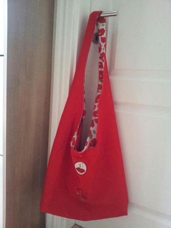 Eine Tasche zum #Muttertag genäht vom Aschenbrödel für unser #Gewinnspiel #Stofffürmutti
