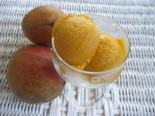 Mango Sorbet | Simply Trini Cooking #trinicooking