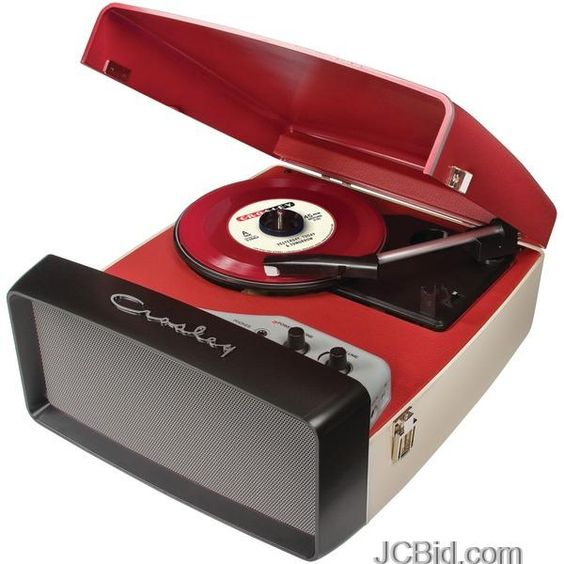Crosley Radio Turntable Portable Record Player 50 S