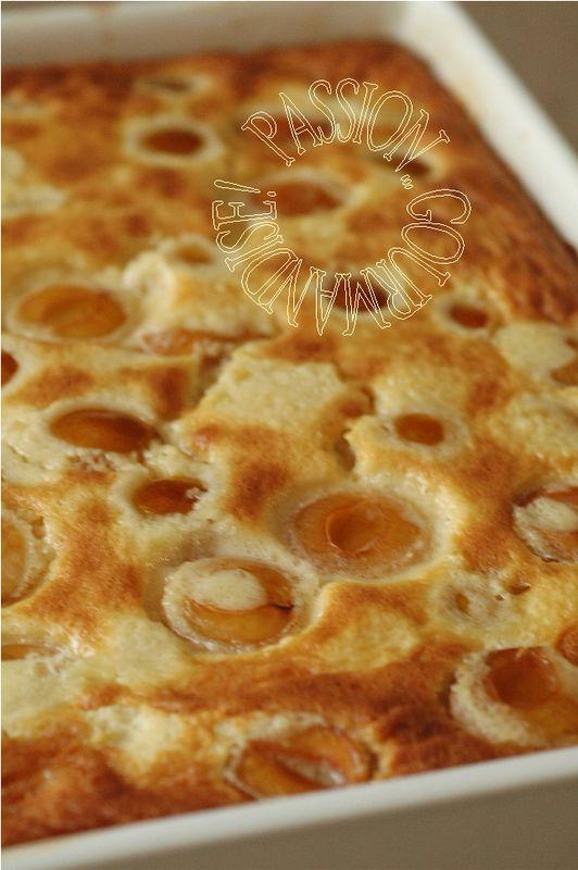 Clafoutis mirabelles-mascarpone & amandes