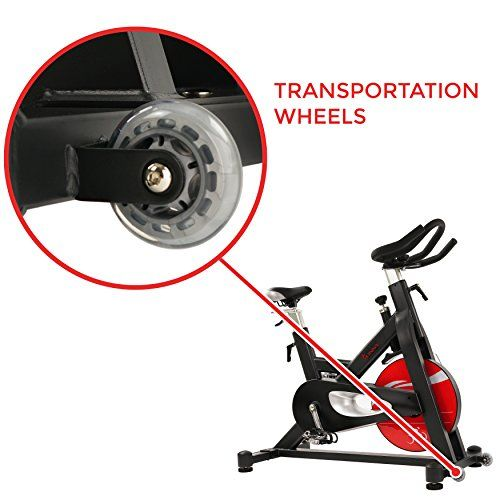 Sunny Health Fitness Evolution Pro Magnetic Belt Drive Indoor Cycling Bike High Weight Capacity Heavy Duty Flywheel Sf B1714 Indoor Cycling Bike Indoor Cycling Cycling Bikes