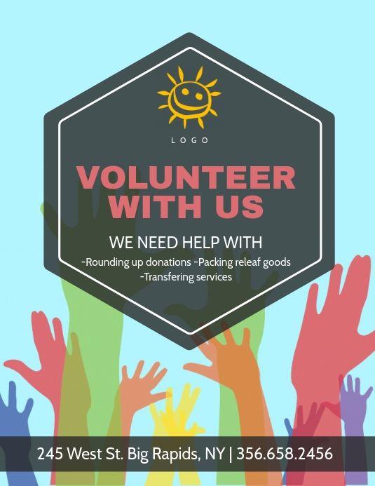 Volunteer Needed Flyer Flyer Volunteers Needed Photoshop Flyer