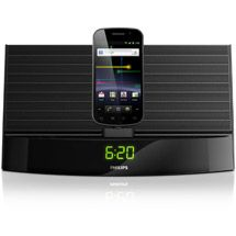 Walmart: Philips AS140/37 Clock Radio Docking System for Select Android Mobile Phones, Black, Refurbished Gifts for Dad