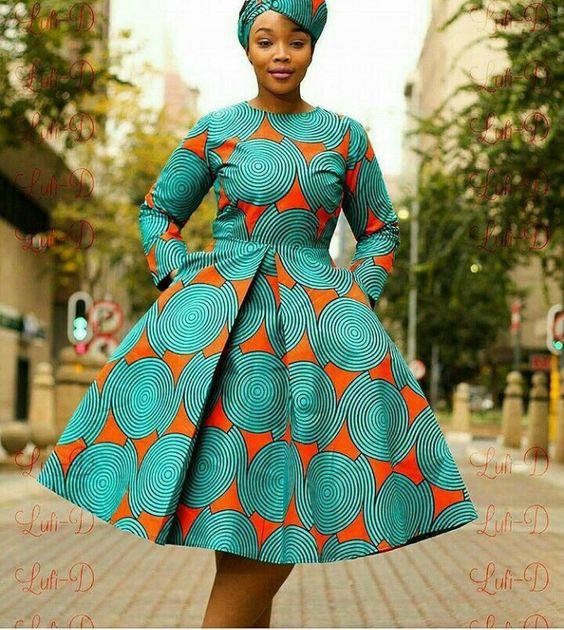 60b0242b193 Robe en Pagne - Manuella Style