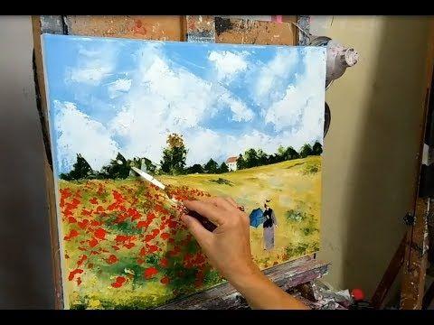 Epingle Sur Peinture