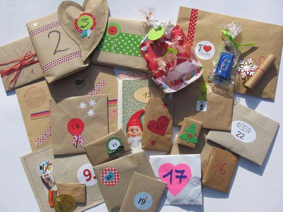 """In diesem Adventskalender gibt es an jedem Tag ein Geschenk aus einem anderen Dawanda-Shop. Der Wert der einzelnen """"Adventskalendertürchen"""" liegt zwis"""