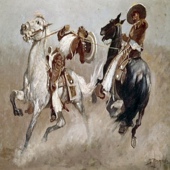 Frédéric Gounongbe Wallpaper: Image Detail For -Frederic Sackrider Remington Paintings