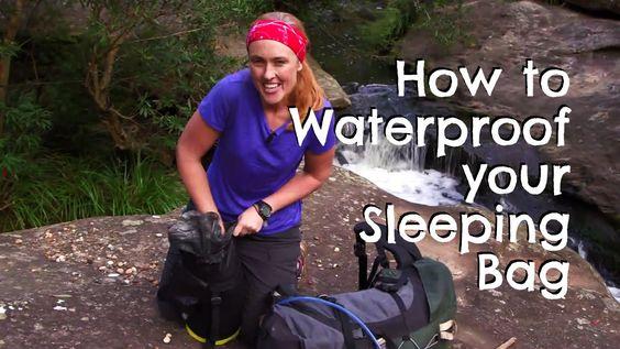 How to Waterproof your Sleeping Bag