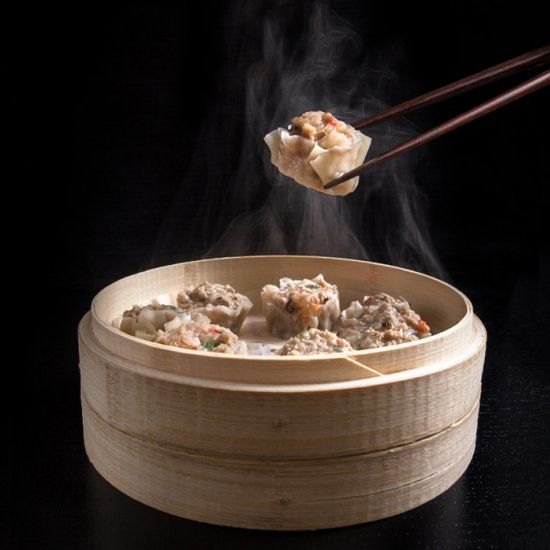 Make this Chinese Dim Sum Shumai Recipe that gives a deliciously satisfying mouthfeel. Great make ahead freezer meals!