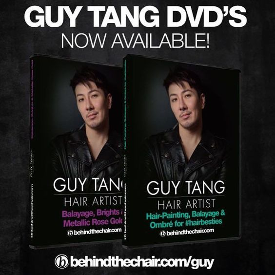 SAVE $40!! The Guy Tang DVD set including DIAMONDS IN THE SKY! Two DVDs- from his education programs in Chicago and New Orleans sponsored by BTC! Only $150 for 3 1/2 hours of color education that only Guy can give! GET MORE INFO AND ORDER AT: http://ift.tt/1Ojd8pY @guy_tang #hairbesties #balayage #ombre #behindthechair by behindthechair_com